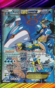 Kyogre EX - X00 : Double Danger - 6/34 - Carte Pokemon Neuve Française