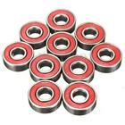 10PCS ABEC-5 608-2RS 608RS SET Skateboard Roller Sealed Ball Stainless Bearings