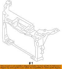 FORD OEM-Radiator Support Bracket DA8Z16138A