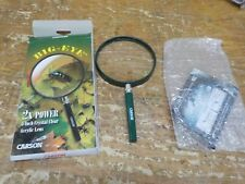 Carson BigEye Magnifiers with Oversized 5.0 inch Distortion-Free Lens for Readin