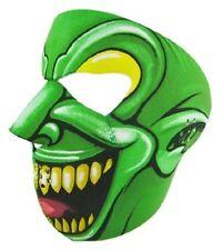 Green Goon Skull Neoprene Full Face Mask Biker ATV Party Skiing Free Shipping