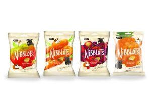 VETIQ Nibblots Animales Pequeños Delicias Baya Apple Zanahoria Tropical -