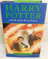 Harry Potter and the Half-Blood Prince book. 11 O.W.L.s misprint. 1st edition.