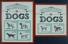 St. Vincent Bequia 2013 Hunde Dogs Pets Haustiere 829-32 Block 85 MNH