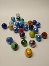Glass Marbles 16mm Assorted 50 Pk