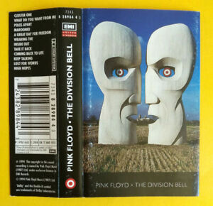 COPERTINA Inlay MC Musicassetta PINK FLOYD The Division Bell UK no cd dvd lp vhs