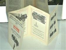NOTICE ORIGINALE SCHUCO 1966 (4 LANGUAGES) OLTIMER TIN TOY MERCER 1913