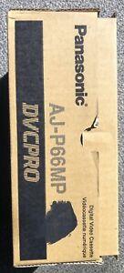Panasonic AJ-P66MP 66 Minute DVC Pro Tape Qty 10 New