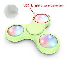 NEW 3PCS LED Light For Fidget Hand Spinner Torqbar Finger Toy EDC Focus Gyro HOT