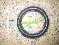 "1pcs 4/"" inch Narrow foam edge Speaker surround Speaker Repair parts"