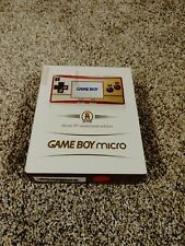Nintendo Game Boy Micro Special 20th Anniversary Edition Brand New System 2005