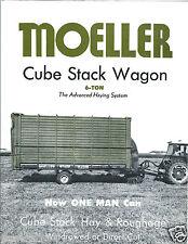 Farm Equipment Brochure - Moeller - Hay Cube Stack Wagon System (F4140)