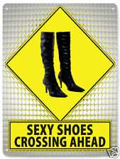 boots sexy Shoes Metal Sign closet art girls room GREAT GIFT wall decor 303