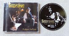 """CD AUDIO MUSIQUE FR / SOPRANO """"PUISQU'IL FAUT VIVRE"""" CD ALBUM 17T 2007 BON ÉTAT"""