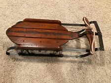 Vtg Miniature Sled • FLEXIBLE FLYER • Airline Pursuit • Salesman Sample?