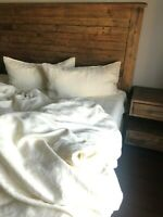 Linen DUVET COVER SET COMFORTER COVER Natural 100% FlaxLinen Bedding Washed