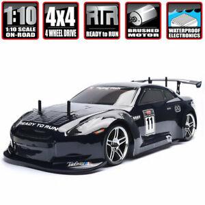 4wd 1:10 Touring Racing Two Drift Nitro Gas Power High Speed Car