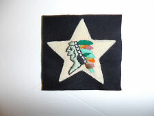 b7379 WW1 USMC HQ 5th Marine Regiment 2 division Indian Chief  Head Quarter R5D