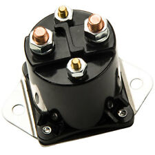 1x For Club Car 12V Gas Golf Cart Solenoid | 1984 up | DS & Precedent 4 Terminal
