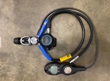 Aqua Lung Supreme Regulator and Zoop 2 Gauge Dive Computer Console EXLLNT COND!!