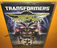TRANSFORMERS BEAST MACHINES complete series DVD set OPRTIMUS PRIMAL megatron