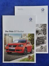 VW Polo GT Rocket - Prospekt + Preisliste Brochure 06.2008