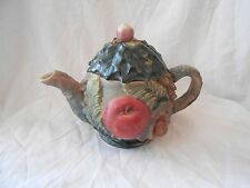 Collectable Takahashi of San Francisco Hand Painted Porcelain Teapot Japan