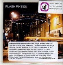 (CS849) Flash Fiktion, Starry Glow - 2012 DJ CD