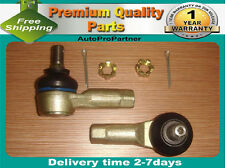2 OUTER TIE ROD END FOR GEO METRO 89-97 PONTIAC FIREFLY 85-91 DAEWOO TICO 95-00