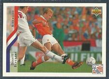 UPPER DECK WORLD CUP USA 1994- #144-NEDERLAND/HOLLAND-EX ARSENAL-DENNIS BERGKAMP