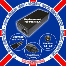15V F. TOSHIBA TECRA A1 A2 A3 A4 AC ADAPTER CHARGER PSU