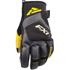 FXR™ Transfer Short Cuff Black / Hi-Vis Snowmobile Gloves 180807-1065-XX