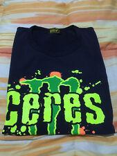 T-shirt maglietta a maniche corte Ceres per uomo di taglia S di colore blu scuro