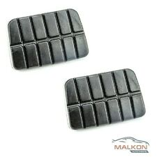 2 X CLUTCH & BRAKE RUBBER PEDALS FOR NISSAN NAVARA  TERRANO SUNNY 46531M3000
