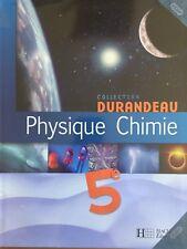 Physique-chimie ; 5eme ; Livre De L'eleve - Jean-pierre Durandeau