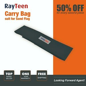 RayTeen Carry Bag Suit for 4x4 Recovery Sand Flag Safety Flag Simpson Desert