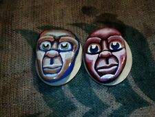Lake Stones Hand Painted in the American Primitive Tradition