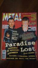 rivista METAL SHOCK 246/1997 Paradise Lost, Alice Cooper, Satyricon, Scorpions