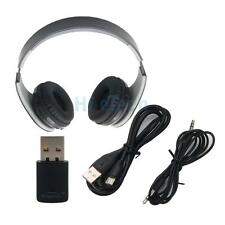 Bluetooth Wireless Stereo Headset with Receiver USB for Sony PS4 PC US