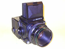 Bronica ETRS - complete, working SLR for 4,5x6 film 120
