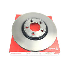 Front Left or Right Coated Disc Brake Rotor 300mm Brembo for Ford Jaguar Lincoln