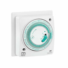Greenbrook T101A-C Socket Box Mounted Mechanical Time Switch - 7 Day