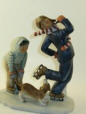 "Norman Rockwell ""Gay Blade "" Figurine"