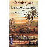 Christian Jacq - Le Juge d'Egypte, tome 3 : La Justice du vizir - 1995 - poche