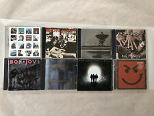 BON JOVI 9 CD DVD LOT: SLIPPERY-BOUNCE-CIRCLE-CROSS ROAD-JERSEY-NICE DAY & MORE!