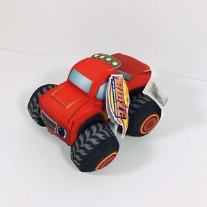 """Blaze and The Monster Machines 6"""" Plush New With Tags NWT"""