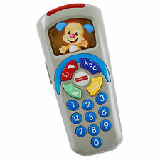 New Fisher Price Laugh & Learn Puppy's Remote Songs & Sounds Dmgd Box