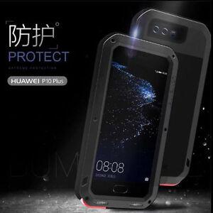 Waterproof Metal Aluminum Gorilla Glass Case Cover For Huawei P10 Plus