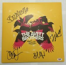 The Avett Brothers Signed Magpie & The Dandelion Album Vinyl PSA/DNA FL #AB00874