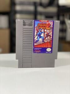 MEGA MAN 2 -- NES Nintendo Authentic Original Game CLEAN TESTED